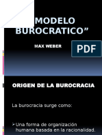 Modelo Burocratico Exposicion