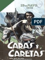 Xtra. Caras y Caretas 555. 22-05-1909
