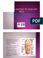 Surgical Anatomy of Head & Neck