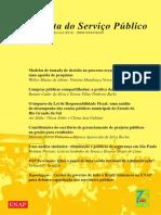 Revista do Serviço Público vol . 63, no 2 - Abr /Jun 2012