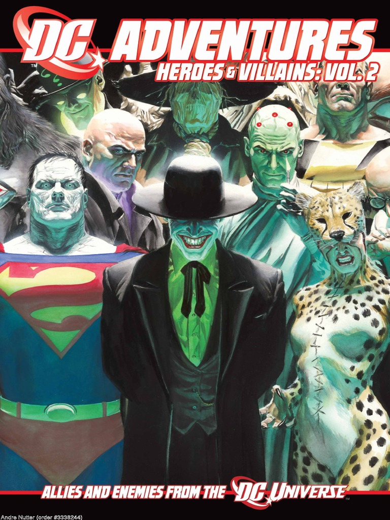 9afb5ea999 DC Adventures Heroes and Villains Vol 2