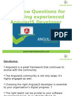 Interview Questions for Recruiting Experienced Angularjs Developer 160212112351