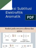 Reaksi Substitusi Elektrofilik Aromatik