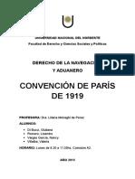 Convención de París de 1919