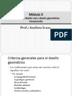 Módulo II -Criterios Generales Para El Diseño