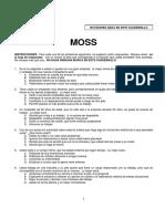 Cuadernillo MOSS