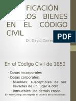 Clasificación de los bienes en el código civil