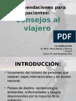 Presentacic3b3n Recomendaciones Al Viajero1