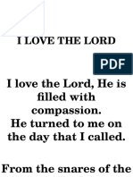 Communion-i Love the Lord