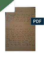 diary notes