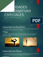 Capacidades Coordinativas Especiales Leonardo Gonzalez 10º