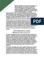 Carta Garcia ...Interamericano y Soberano.
