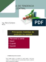 Medidas de Tendencia Central Presentacion