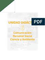 u6 1ergrado Unidad Didactica Integrado