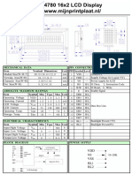 HD44780 (16x2) LCD Display