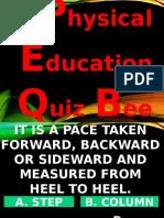 Sample Quiz Bee in Powerpoint