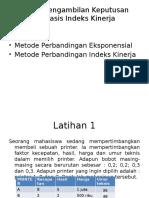 Responsi 1 - Pa Arif - Indeks Kinerja