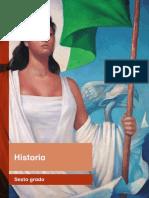 Primaria Sexto Grado Historia Libro de Texto