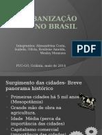 A Urbanização No Brasil