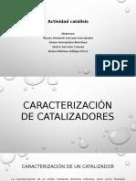 Caracterización de Catalizadores
