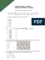 Prueba Patrones y Algebra