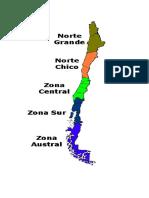 Mapa Zonas Naturales Mio
