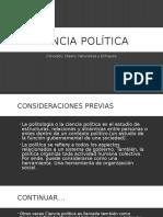 Ciencia Política (Concepto, Naturaleza, Objeto, Enfoques)