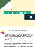 Modul 5 Uji Chi Kuadrat