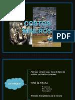 EJEMPLO - Costos Mineros