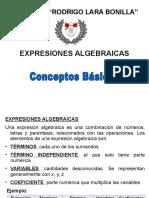 expresiones algebraicas 3° sec-2016