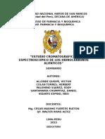 Estudio Cromatografico y Espectroscopico de Los Hidrocarburos Alifaticos