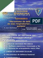 Mecanismos de Defensa Vry p 2014