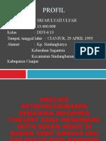 PPT TA Sri Mulyati Ulfah 13400008 (Analisis Ketidaklengkapan Pengisian Informed Conset Guna Menunjang Mutu Rekam Medis di RSKGM Bandung).pptx