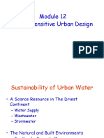 Module 12 - Water Sensitive Urban Design