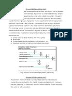 Assignment 3 Polymeric Materials VU21218