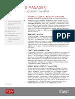 Access Manager Data Sheet