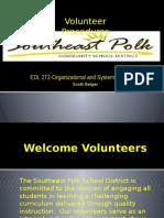 edl 272 fbla - volunteer handbook