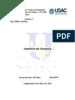 Industria de La Cerámica en Guatemala