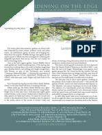 Gardening on the Edge Newsletter, Summer 2009 ~ Monterey Bay Master Gardeners