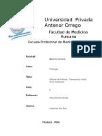 Informe de Fisiología 2 UPAO