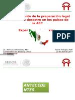 MEXICO Compendio Normativo Haití Abril 2013