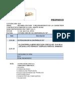 Alcantarilla Tmc 36