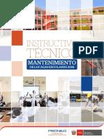 3 03marz Instructivo Técnico Del Programa de Mantenimiento 2016