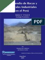 Compendio Rocas Minerales Industriales en El Peru