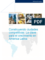MGI Building Competitive Cities Full Report Spanish