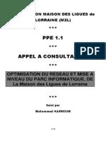 m2l-ppe 1-cahier des charges cotobre  2015