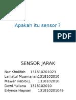 Sensor Jarak