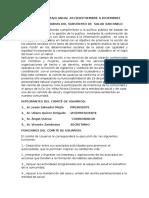 Plan de Trabajo Anual 2013 Comite de Usuarios San Pablo