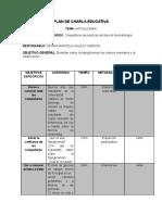 Plan de Charla Educativa Hipoglicemia