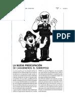 La Nueva Preocupación de Carabineros... El Sobrepeso Revista Que Pasa 18.06.10